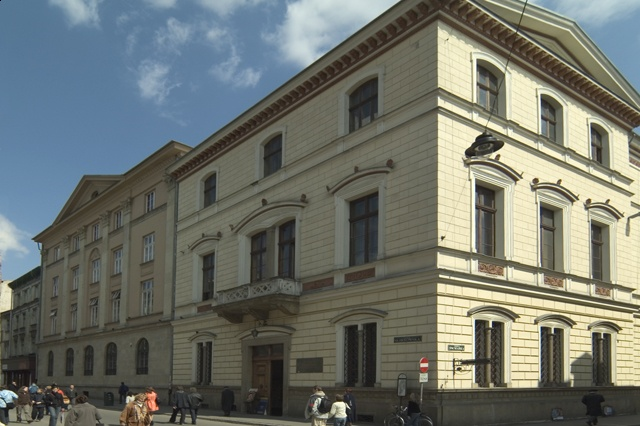 Main building of the Polish Academy of Arts and Sciences